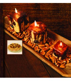 4 x 4 Butter Pecan Candle