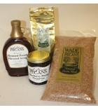 Wade's Breakfast Gift Box with Amaretto Peach Pecan Preserves
