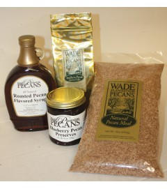 Wade's Breakfast Gift Box with Blueberry Pecan Preserves