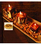 Pecan Candles